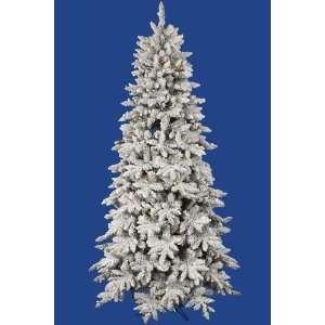 Flocked Olympia Led Fir Tree