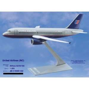 Flight Miniatures United Airlines A319 100 Model Plane