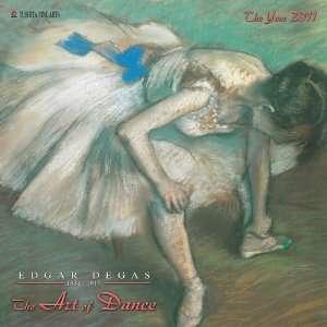 Degas Art of Dance 2011 Wall Calendar