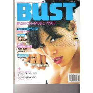 Bust Magazine  Amy Winehouse  Aug/Sept 2007