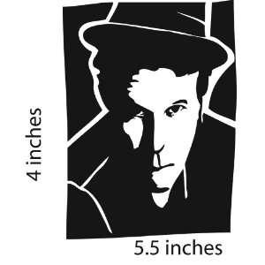 TOM Waits Sticker Cut Vinyl Decal