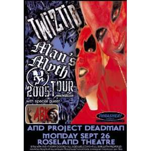 Twiztid Poster   Concert Flyer   Mans Myth Tour: Home