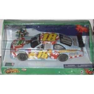 Busch #18 MMs M&Ms Toyota Camry Sam Bass Edition Happy Holidays Paint