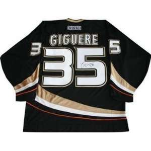 Jersey   Pro Ana)   Autographed NHL Jerseys: Sports Collectibles