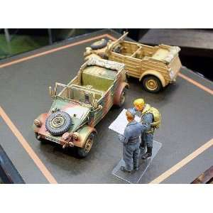 MODELS   1/48 German Kubelwagen Type 82 Vehicle (Plastic Models) Toys