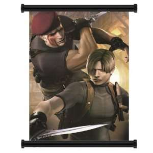 Resident Evil 4 Game Fabric Wall Scroll Poster (31 x 42
