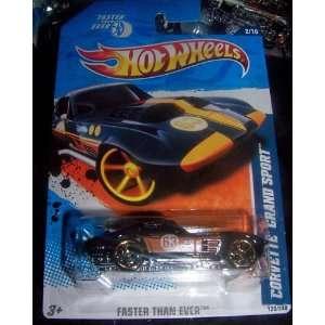 2010 Hot Wheels 130/240   Faster Than Ever 2/10   Corvette Grand Sport