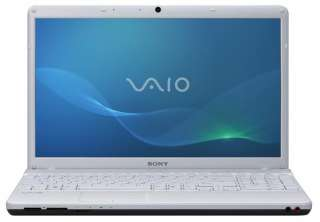 The 15.5 inch Sony VAIO EB laptop is designed with inviting finishes