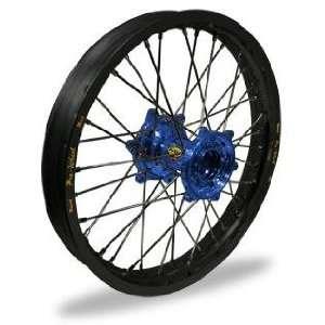 Pro Wheel MX Rear Wheel Set   18x2.15   Black Rim/Blue Hub