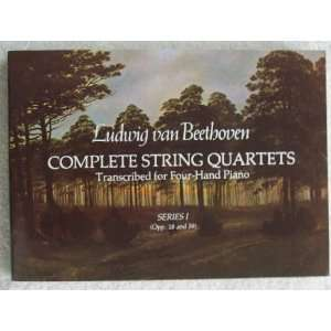 Complete String Quartets Transcribed for Four Hand Piano