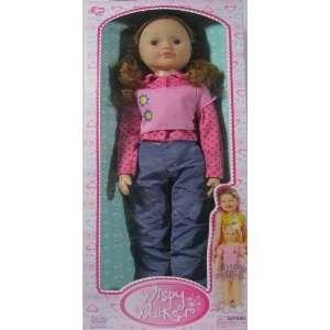 Classic Recreation of 1960s Girls Best Friend Doll Wispy Walker Large