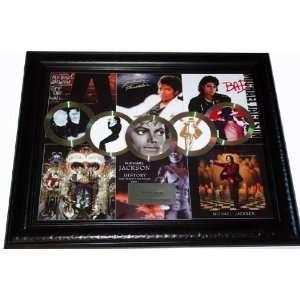 Thriller Gold Platinum Record Award Display non