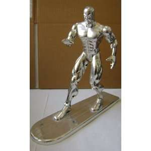 Collectible Silver Surfer Action Figure   10 inches tall x