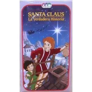 Santa Claus La Verdadera Historia [VHS] Various Movies