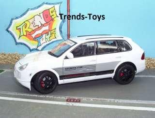 WELLY 02618 1:18 Porsche Cayenne Turbo Sports Cup