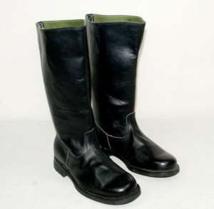 WWII GERMAN EM LEATHER COMBAT BOOTS IN SIZES 45471