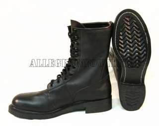 STEEL TOE Full Leather COMBAT JUMP BOOTS NEW (Made in USA)