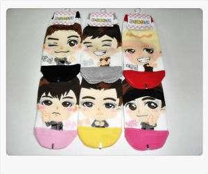 JYP/2PM still 200 2 PM 6 Pairs of socks New Dorosi Ver