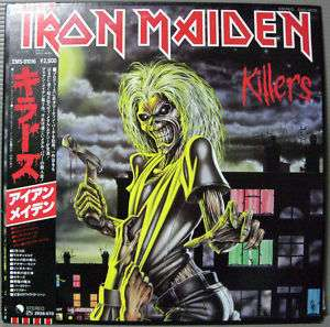 Iron Maiden   Killers LP Japan Obi Heavy Metal Rare