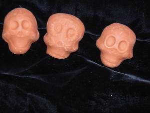 DAY of the DEAD HANDMADE SUGAR SKULLS Ready to PAINT
