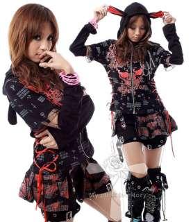 Cyber Punk Bunny INK Gothic Lolita Visual Kei Jacket
