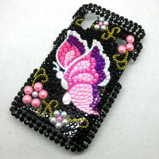 Bling Crystal Diamond Rhinestone Hard Case Cover For Samsung Galaxy