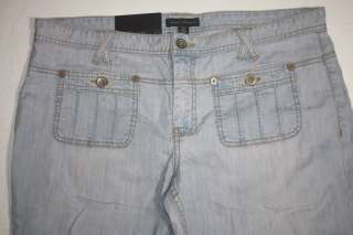 WOMENS BOOT CUT JEANS  BANANA REPUBLIC  SIZE 12 stretch NWT new