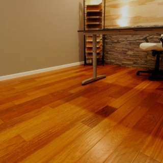 Mannington realities brazilian cherry 6 natural vinyl for Hardwood floors popping