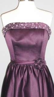 Eggplant 12 Formal Evening Gown Dance Bridesmaid Prom Party Cocktail