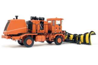Truck w/ Snow Blower & Snow Plow ORANGE 1/50   TWH #072 01056