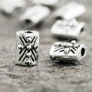 100* Tibetan Silver Bali DIY Style Bead Spacers TS0815