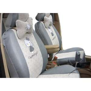 Cool2day Cool Ice 18pcs Kitty Auto Car Rearview Front Rear Seat Saddle