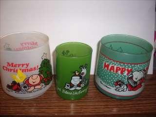 Lot of 3 Vintage Ziggy Christmas Candle Holders