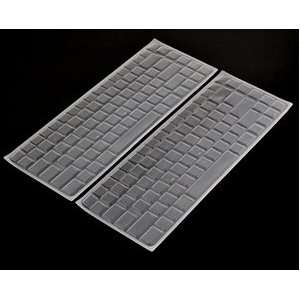 PCS Clear Pure Silicone Keyboard cover skin for DELL Inspiron1420/1410