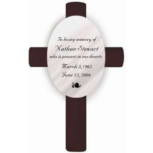 Personalized Memorial Cross In Loving Memory: Home