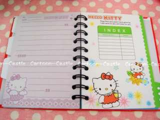 Hello Kitty Agenda Journal Notebook Diary Notepad 27730