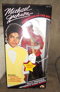 Doll 1984 LJN Michael Jackson Music Awards DOLL 11 in Box