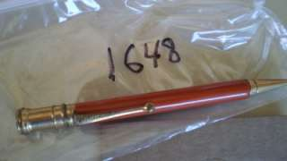 1648VINT. MECH. PENCILPARKER DUOFOLD JRORANGEDENTED CAPSOME