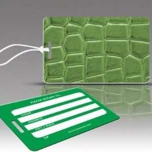 Insight Design 770462 TagCrazy Luggage Tags  Alligator Skin  Set of