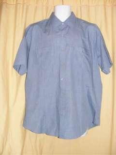 Ely Cattleman pearl snap vintage mens western shirt XL