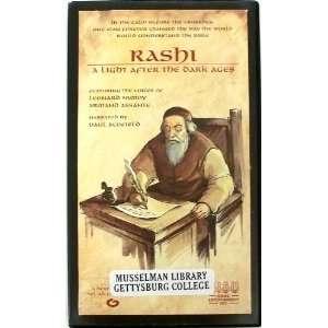 Rashi   a Light After the Dark Ages [VHS] Armand Assante