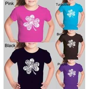 Girls PURPLE Kiss Me Im Irish Shirt S   Created using