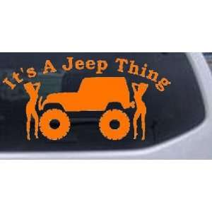 Its A Jeep Thing With Girls Off Road Car Window Wall Laptop Decal