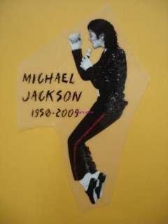 MICHAEL JACKSON MJ Iron On Heat Transfer Patch
