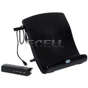 Ecell   BRAND NEW ID U1 BLACK LAPTOP STAND FOR MAC VAIO