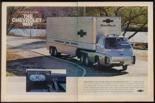 1966 Chevrolet Turbo Titan III turbine semi truck ad