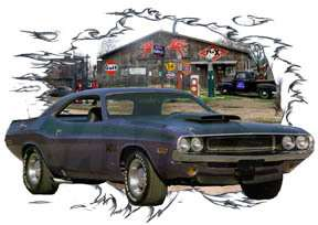 You are bidding on 1 1970 Blue Dodge Challenger a Custom Hot Rod