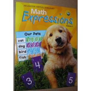 Expressions (Math Expressions 2009   2012) (9780547060774) Hmh Books