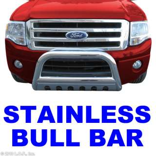 Stainless Push Grill Guard 99 04 FORD F250 F350 SUPER DUTY EXCURSION