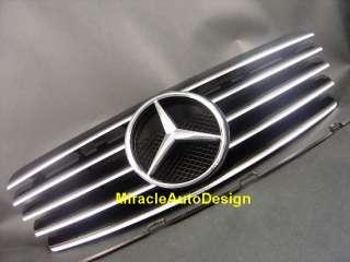 1996 2002 Mercedes W208 CLK Class Black Front Grille